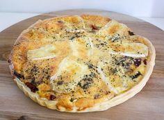 Quiche met brie, champignons en spekjes | Foodaholic.nl