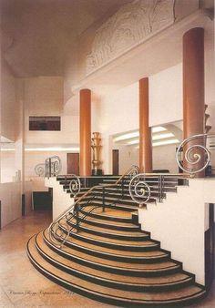 deco staircase,  Copacabana, 1930s