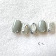 Classy Nails, Simple Nails, Trendy Nails, Cute Nails, Japanese Nail Design, Japanese Nails, Japan Nail Art, Bridal Nail Art, Nail Art Videos
