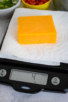 4 ounce block of cheese on scale Bariatric Recipes, Keto Recipes, Cooking Recipes, Picnic Salad Recipes, Block Of Cheese, Cabbage Stir Fry, Broccoli Salad Bacon, Banana Cream, Food And Drink