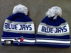 Toronto Blue Jays hats New Era Blu Beanies