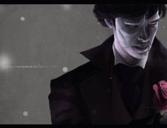 Sherlock as the Phantom of the Opera. NOPE NOPE NOPE CAN'T EVEN WHAT GAVR YOU THE RIGHT YOU TERRIBLE AWESOME ARTIST?!