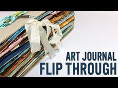 Art journal - she decided - YouTube