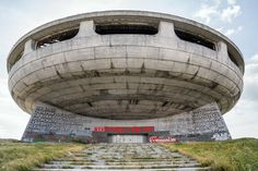 The Buzludzha Monument, in the remote Central Balkan Mountains, has been closed since the fall of the Soviet Union. It was completed in 1981 to commemorate the founding of what would become the Bulgarian Communist Party.