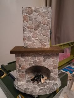 Velhontalo Lps, Candlesticks, Miniatures, Bird, Building, Outdoor Decor, House, Home Decor, Candle Holders