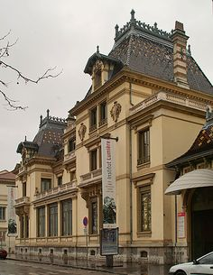 The Lumière House in Lyon, France, now the Institut Lumière museum