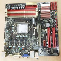 BIOSTAR TH55B HD 6.x Intel H55 Motherboard Socket 1156 LGA1156 DDR3 MicroATX  #Biostar
