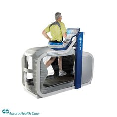 Have a leg injury but can't slow down? Try the AlterG anti-gravity treadmill.