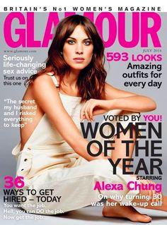 Alexa Chung, Glamour Magazine [United Kingdom] (July 2014)