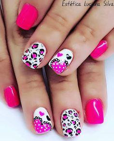Pedicure, Nail Designs, Animal, Nails, Beauty, Finger Nails, Pedicures, Ongles, Nail Desings