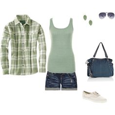 Summer Comfort, created by amy-devito-haustetter on Polyvore