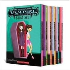 My sister the vampire. This series was recommended to me by my granddaughter Emily (10). I'm on book #4