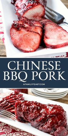 Outstanding Our delicious Chinese BBQ Pork can be eaten as is, or added to so many delicious Asian recipes. The post Our delicious Chinese BBQ Pork can be eaten as is, or added to so many delicious Asian recipes…. appeared first on Amas Recipes . Chinese Bbq Pork, Chinese Chicken Recipes, Easy Chinese Recipes, Korean Beef, Korean Fried Chicken, Chinese Bbq Ribs Recipe, Chinese Food Dishes, Chinese Chicken Marinade, Chinese Pizza