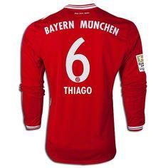 Men's 2013/14 FC Bayern Munich Thiago Ribery by SoccerAvenue, $79.95