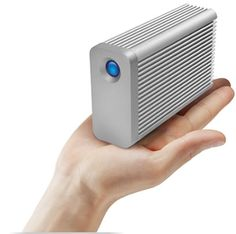 LaCie Little Big Disk  -  The fastest portable Thunderbolt solution on the market.