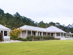 Congewai Road, Congewai, NSW 2325. Australian homestead - modern country, with contemporary planting.