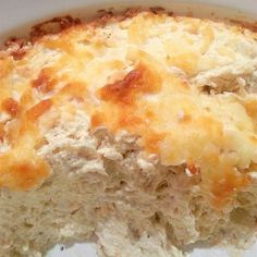 """Slow Cooker Garlic Parmesan Wing Dip I """"This is a great dip - I always make the chicken buffalo dip and this is a nice refreshing variation with the taste of parmesan and garlic"""" try it on the Blackstone Griddle Spicy Recipes, Dip Recipes, Slow Cooker Recipes, Cooking Recipes, Appetizer Recipes, Crockpot Recipes, Recipies, Holiday Appetizers, Appetizer Dips"""