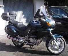 My old Honda Deauville