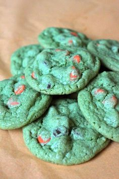 Baked Perfection: Halloween Chocolate Chip Cookies