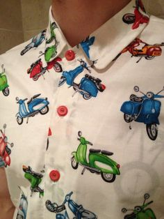 Mens shirt made using light weight cotton from our shop