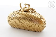 My Fiber One Snackcessory Contest Submission | DIY clutch | use a hot glue gun to create texture. Genius!