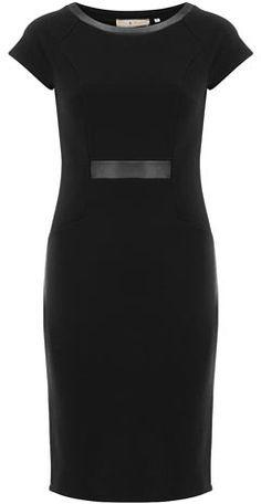 Billie e flor de couro preto olhar vestido de ponte $ 31,50 thestylecure.com