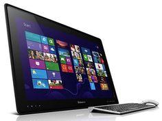 IdeaCentre Horizon 27 (Lenovo). Tablet de gran tamaño (27 pulgadas), diseñado para el ocio. Se puede utilizar para reproducir material multimedia en el salón. En posición horizontal inicia un software propio, como tabla de juegos.