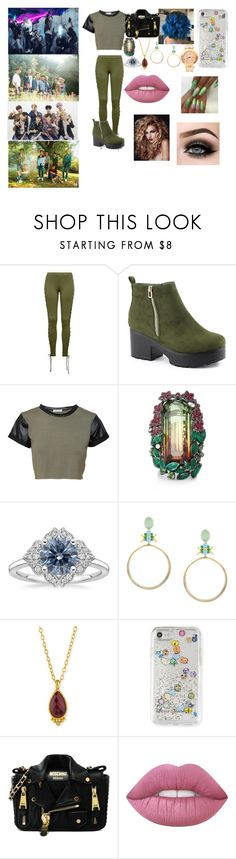 """""""EXO"""" by btsloveforlife ❤ liked on Polyvore featuring Puma, Nature Breeze, Lydia Courteille, Iosselliani, Gurhan, Rebecca Minkoff, Moschino, ASAP and Versace"""