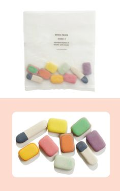 "... will have this most beautiful erasers of the world: ""top hat madewell 1-01  eraser"""