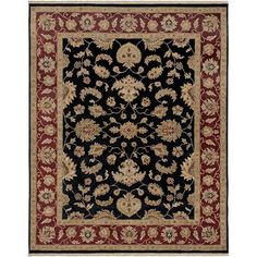 Luxor Black Rectangle: 10 Ft. x 14 Rug - (In Rectangle)