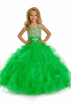 Bright Green glitz Pageant Dress Perfect Angels Pageant #1: 8bfd9f93a6fb930c9b8a13dcc188de21