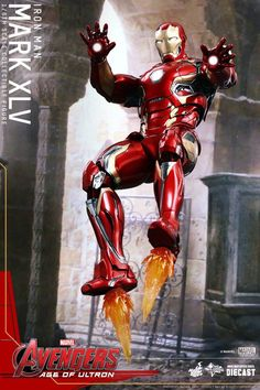 Take A Closer Look At 'Iron Man Mark XLV' AVENGERS: AGE OF ULTRON Hot Toys Figure