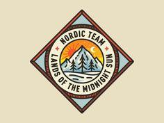 Dribbble - Nordic Retro by Nick Slater