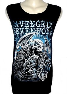 Avenged Sevenfold Skeleton T Shirt Tank Top par TheRockShirts