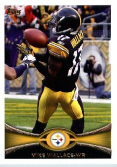 2012 Topps Football Card #125 Mike Wallace - Pittsburgh Steelers (NFL Trading Card) by Topps. $1.89. 2012 Topps Football Card #125 Mike Wallace - Pittsburgh Steelers (NFL Trading Card)