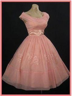Tea Length Wedding Dress - Vintage Retro Style