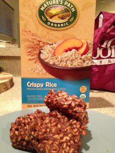 Jamie Eason LiveFit Recipe: Chocolate Peanut Butter Protein Crisps www.mariemajor.com/chocolate-peanut-butter-protein-crisps/