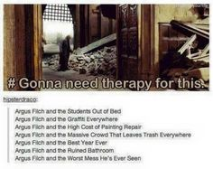 The HP books according to filch...