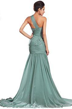 EDressit nova uma cinta verde formal baile vestido de festa vestido de noite (00132904): Roupas