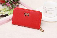 Women's Wallets PU leather long 8 color