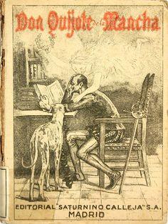 Quijote,Don (Personaje de ficción). El Ingenioso hidalgo don Quijote de la Mancha / compuesto por Miguel de Cervantes Saavedra; con ilustracionesde M. Angel (1905)