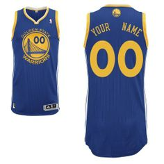 8537ee990 -80% Off for Adidas Authentic Men s Jersey - NBA Golden State Warriors Blue  Road