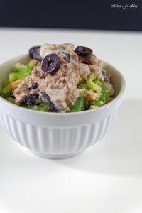 Couscous Salat mit Thunfischcreme <3