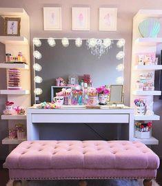 18 fantastiche immagini su decorazione camera per ragazza scrivania soggiorno e decorazione - Decorazioni camera ragazza ...