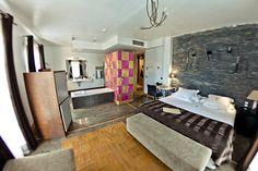 Habitación de la Posada Casa del Abad de Ampudia hotel spa #hotelesconencanto #hotelesenpalencia #bucolichoteles