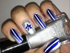fingernail+art-dallas+cowboys | dallas cowboy nail art 2