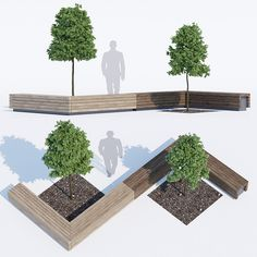Precious Tips for Outdoor Gardens - Modern Concept Board Architecture, Landscape Architecture Design, Architecture Portfolio, Architecture Diagrams, Urban Furniture, Street Furniture, Bench Furniture, Parque Linear, Public Space Design