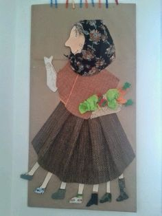 VELLA QUARESMA - Material: cartró, roba, paper, colors, tisores - Nivell: Migdia Infantil 2013/14
