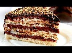 Торт «Мишка» / Простой домашний Сметанник - Очень вкусно