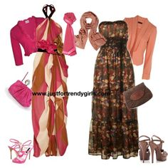 hijab outfits? | evening hijab clothes 16  I would wear the one on the right